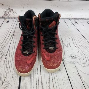 Nike LeBron 11 University Red Cork Shoes